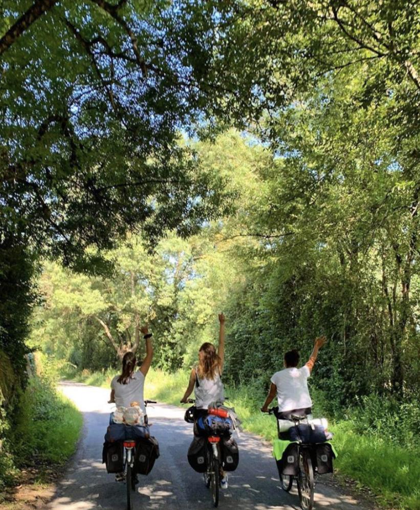voyage éco-responsable à vélo